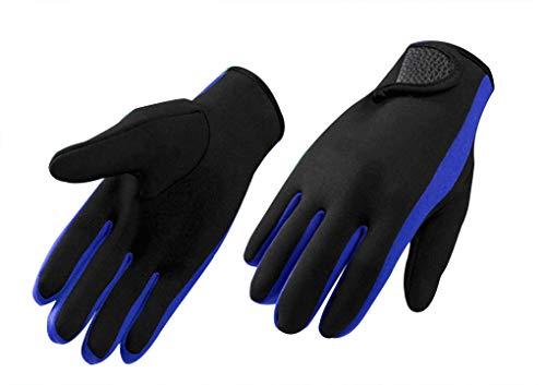 High Stretch Neoprenhandschuhe Tauchen Handschuhe 1,5 mm Anti-Rutsch-Tauchen Gloves Surfen Schwimmen Schnorchelhandschuhe Segeln Kajakfahren Kanufahren Thermohandschuhe für Erwachsene und Jugendliche