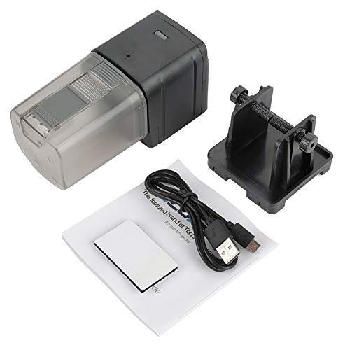 Caredy Alimentador automático de Peces, WiFi Aquarium Tank Timer Feeder Control Remoto Inteligente Máquina automática de alimentación de Peces con APLICACIÓN y Control de Sonido