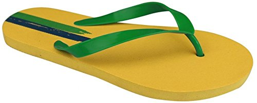 Waimea Zehslipper en el Mundial amarillo Talla:41
