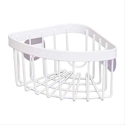 Sink opslag opknoping mand afvoer rack driehoek met dubbele zuignap wastafel put schoonmaken bal schotel doek Rag Box rack