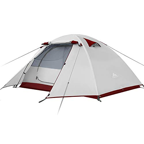 Forceatt Camping Tent-2 Person Tent, Waterproof & Windproof. Lightweight Backpacking Tent, Easy Setup, Suitable for Outdoor and Hiking Traveling