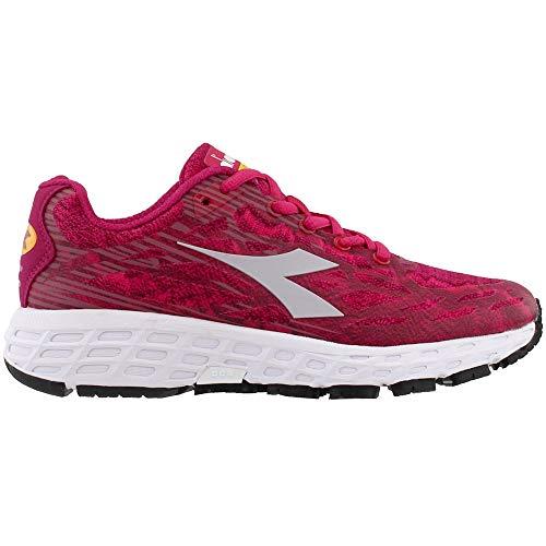 Diadora Womens M.Shindano 7 Running Casual Shoes, Pink, 10