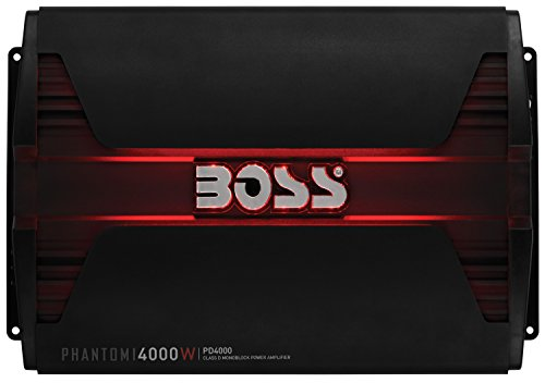 Boss Audio PD4000 Phantom 4000W Monoblock, Klasse D Amplifier