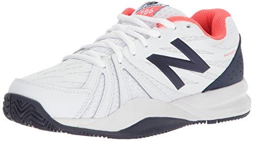 New Balance Wch786V2, Zapatillas de Tenis Mujer, Rosa (Coral), 37 EU