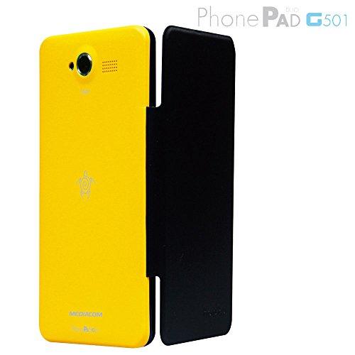 MEDIACOM Custodia Flip per PhonePad Duo G501 Gialla