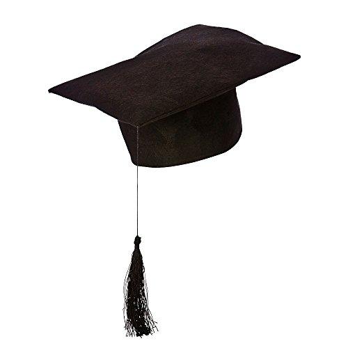 Teachers Black Hat University Fancy Dress Costume