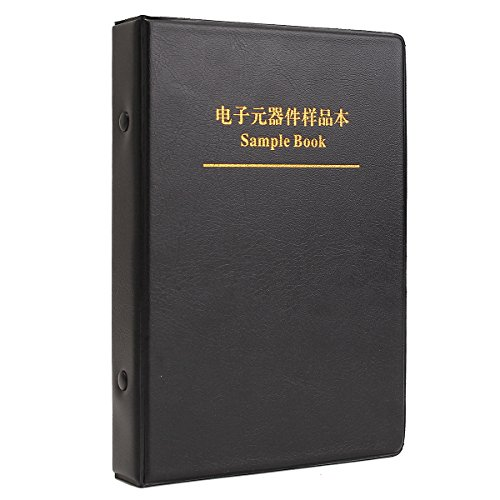 WiMas 0805 SMD Resistor and Capacitor Sample Book 3725Pcs Full Version Kit