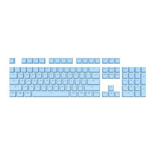 Mmbh 104 Piezas de Kit de reemplazo de backlito de Dos Colores Accesorios para el Kit de reemplazo para Cherry/Kailh/Gateron/Outemu Switch Teclado mecánico (Color : Sky Blue)