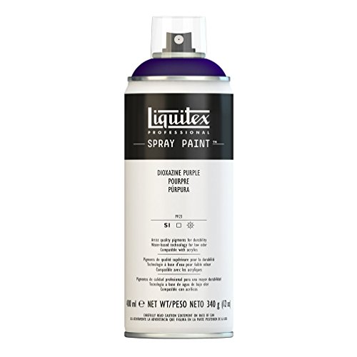 Liquitex Professional Spray Paint - Acrylfarbe, Farbspray auf Wasserbasis, lichtecht, 400 ml - Dioxazinpurpur