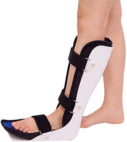 AY Breques de Tobillo, Bota para Caminar, Tobillo de Becerro Fractura Esguince Protector Pie Dato Ortesis Zapatos correctivos (Size : Large)