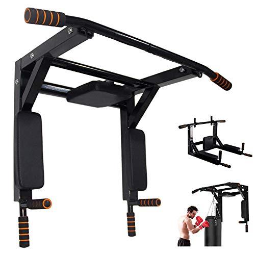 Multi-Gym Klimmzugstange zur Wandmontage, für drinnen und draußen, Kraftturm-Set, Trainingsgerät, unterstützt bis zu 272 kg