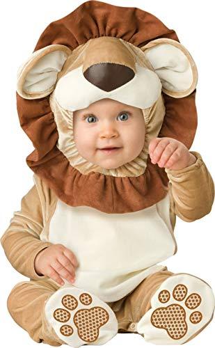 De Bébé Garçons Filles Lovable Lion Livre de la Jungle Jour Halloween en Personnage Costume Déguisement - Marron, Marron, 6-12 Months