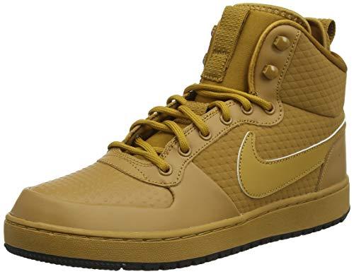 Nike Herren Sneaker Ebernon Mid Winter Gymnastikschuhe, Beige (Wheat/Wheat/Black 700), 44 EU