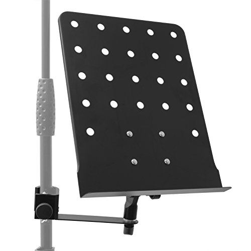 Tiger Music Stand Attachment with Clamp - Music Stand Plate with Arm