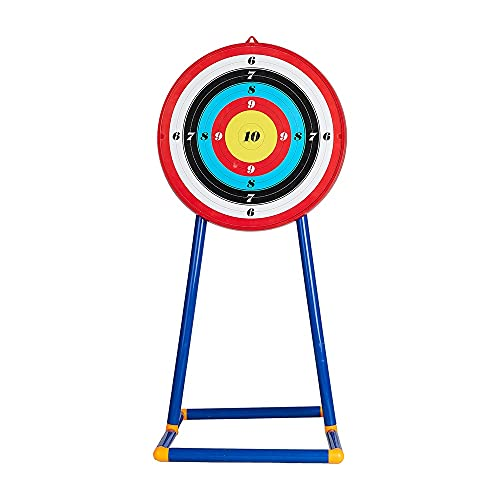 TOPARCHERY Archery Target for Youth Archery Bow Sets Target Stand for Suction Cup Arrows, Easy to Assemble,Removable