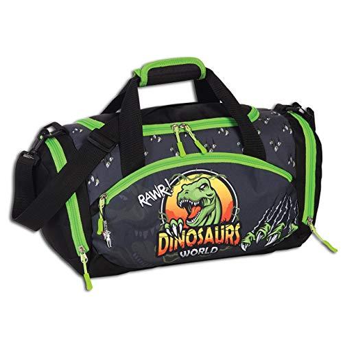 Fabrizio Reisetasche Kinder Tyrannosaurus Rex Sporttasche Scharfzahn 3D OTI207K Polyester Sporttasche