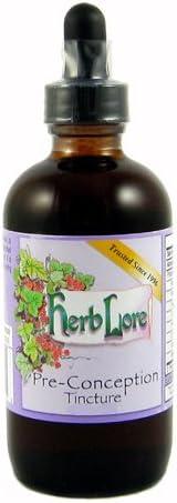 Herb Lore Pre-Conception Fertility Large discharge sale Tea 2 - Nat Translated Tincture Ounces
