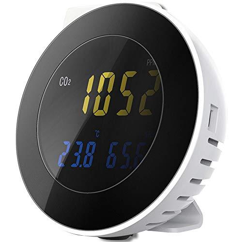 CO2-Detektor, Intuitive Erkennung HT-501 großer digitaler Bildschirm-Tester, hohe Empfindlichkeits-Monitor, Messanalysegerät, Umwelt