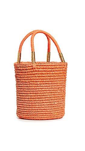 Sensi Studio Women's Baby Tote Bag, Orange/Gold, One Size