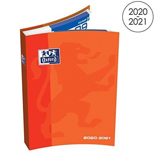 Oxford School Schulkalender Täglich 2018-2019 1 Tag Page 352 Seiten 15x21 Orange