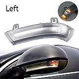 HHF Iluminación de la señal 1 PC de la derecha o izquierda Vista posterior del coche del espejo LED indicador de dirección Gire la luz del intermitente lateral de la lámpara for VW Passat B6 Golf 5 Je
