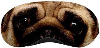 Pug Dog Puppy Eyes Face Sleep Sleeping Mask Travel