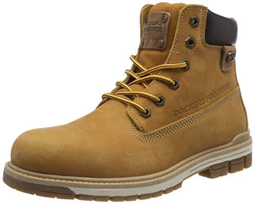 Dockers by Gerli Herren 43LU001 Combat Boots, Gelb (Golden Tan 910), 45 EU