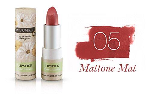 Naturaverde Lippenstift Pure Natura Nr. 5 Mattone Mat - 100 g