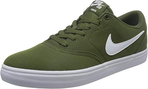 Nike Men'S Nike Sb Check Solarsoft Canva - legion green/white, Größe:8