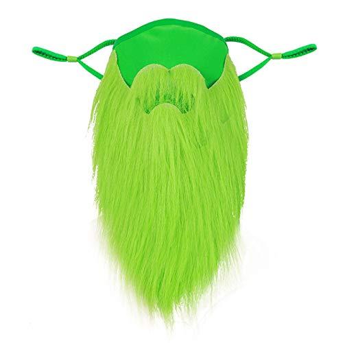 Día De San Patricio En Irlanda Mascarilla Desechable Máscara Protectora Tres Capas Barba Marrón Decoración Carnaval Adulta Hombres Y Mujeres Industrial Ear Loop Para Actividades Fiesta Al Aire Libre