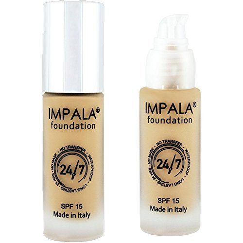 Impala Base de Maquillaje 24/7 Leonado 07 Waterproof Larga D