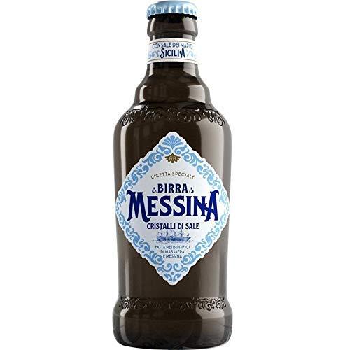 MESSINA BIRRA CRISTALLI DI SALE 33 CL 24 BOTTIGLIETTE