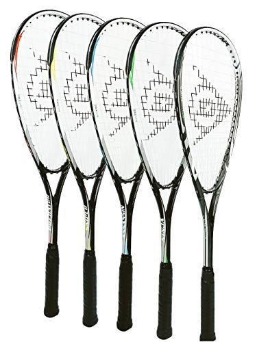 DUNLOP X-Lite Biotec Assassin - Raqueta de squash + funda protectora de longitud completa