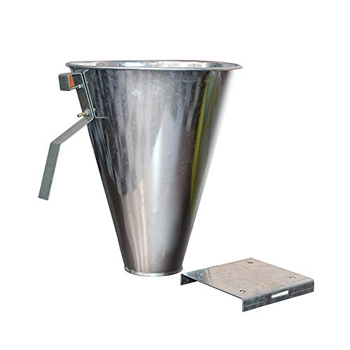 Hoqiang Killing/Restraining Cone, Steel Poultry Steel Restraining Cone Large Stainless Steel Restraining Processing Kill Cone