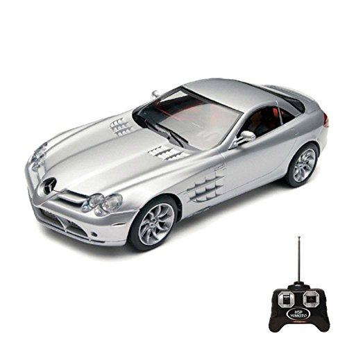 Unbekannt Mercedes Benz SLR R199 - RC ferngesteuertes Lizenz-Fahrzeug im Original-Design, Modell-Maßstab 1:24, inkl. Fernsteuerung