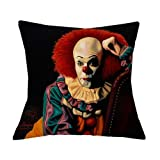 MAY-XCustom-Pillowcase Funda De Cojín Funda De Almohada Horror Personajes Asesinos Chucky Jason...