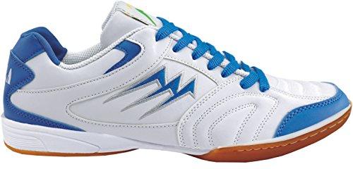 Agla F/40 Scarpe Da Futsal Indoor, Bianco/Blu, 23 cm/36