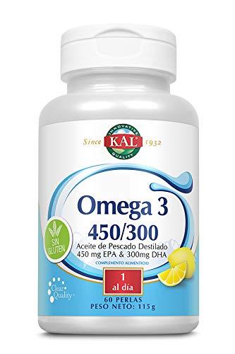 Kal Omega 3 450/300 | Sin Gluten | 60 Perlas