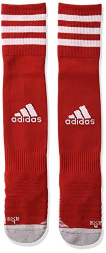 adidas Unisex Erwachsene Adi 18 Socks, power red/White, 31-33