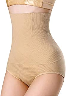 Womens High Waisted Tummy Control Panties Seamless Butt Lifter Shapewear Briefs Slimming Body Shaper