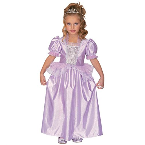 NET TOYS Robe de Princesse Reine Déguisement pour Enfant Princess Costume Cendrillon Costume Fille Conte de Fée Princesse Déguisement de Carnaval Little Queen Tenue 110 cm/4 Ans