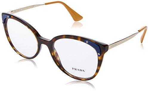 Prada Damen 0PR 12UV Brillengestell, Braun (Havana), 53