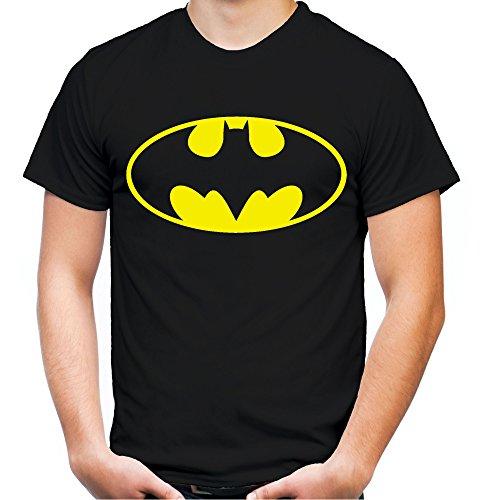 Camiseta para hombre y hombre, diseo con logotipo de Batman Negro M