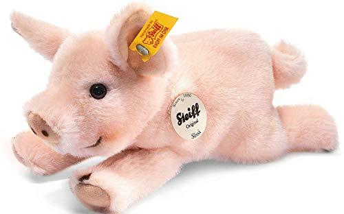 Steiff 280016 Sissi 22 liegend Schwein, ROSA