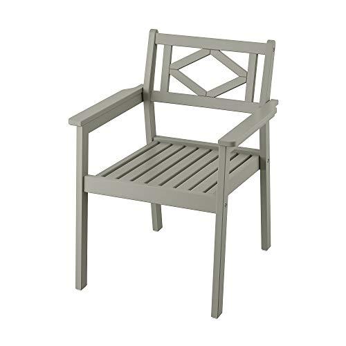 BONDHOLMEN Stuhl mit Armlehnen, Outdoor 63x62x83 cm grau