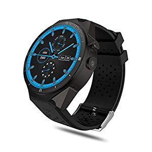 Smart Watch KW88 pro Android 7.0 1GB 16GB GPS Fitness Tracker Heart Rate MP3/MP4 Player SmartWatch Men Women