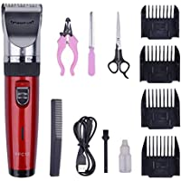 Pawfull USB Rechargeable Cordless Pet Hair Clippers