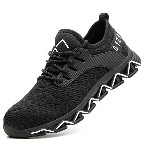 Zapatos de Seguridad para Hombre Zapatillas Zapatos de Mujer Seguridad de Acero Ligeras...