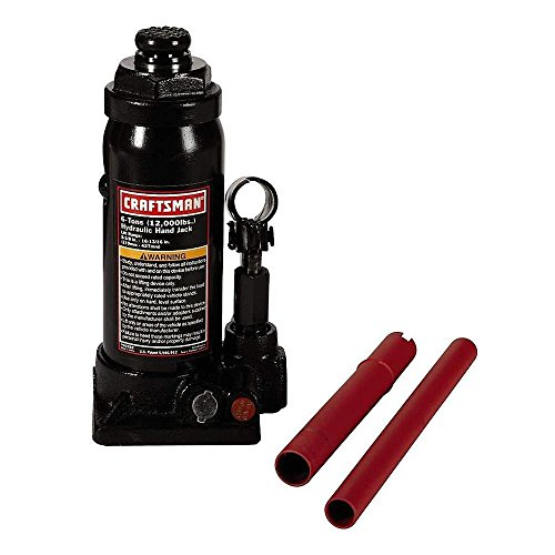 Craftsman 9-50282 6 Ton Hydraulic Bottle Jack
