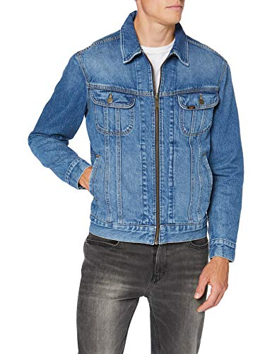Lee Rider Jacket Giacca di Jeans, Hartly, S Uomo